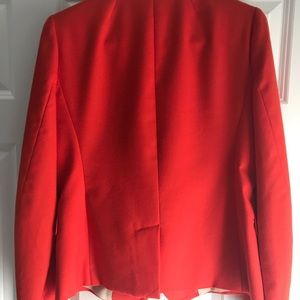 Jcrew schoolboy blazer size 6 orange